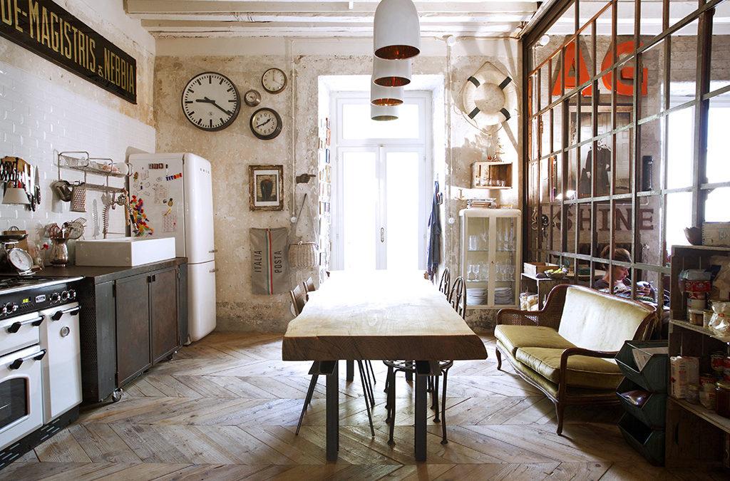 ¿Cómo conseguir el estilo industrial-vintage en tu hogar?